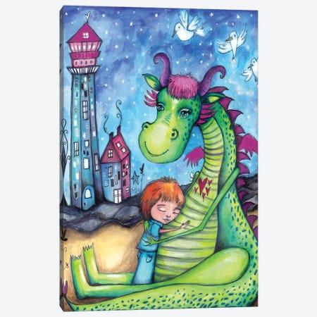 Elliot The Dragon Canvas Print #LPR61} by Tamara Laporte Canvas Print