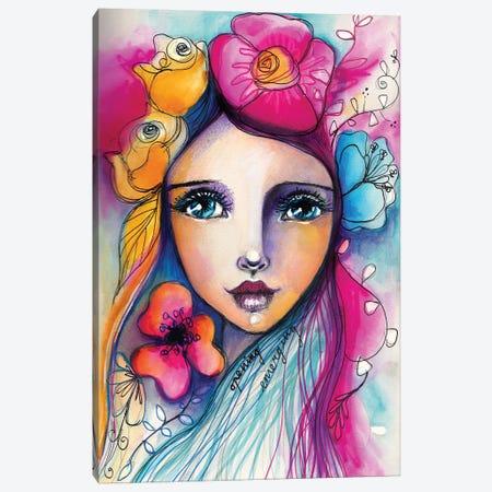 Emerging Canvas Print #LPR63} by Tamara Laporte Art Print