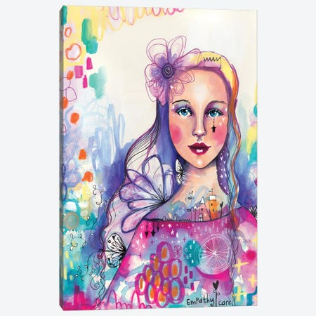 Empathy Self Canvas Print #LPR64} by Tamara Laporte Canvas Artwork