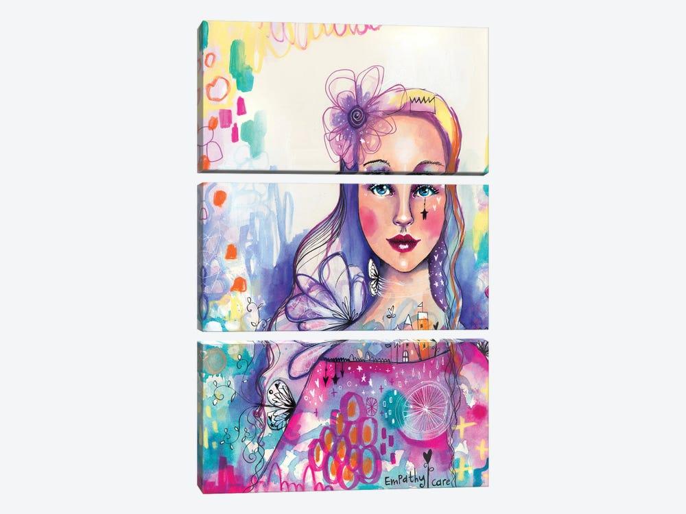 Empathy Self by Tamara Laporte 3-piece Canvas Wall Art