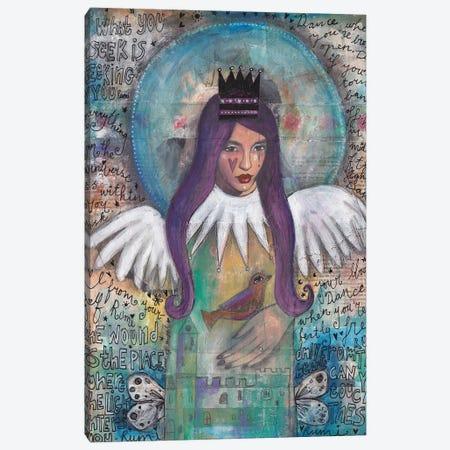Essence Of Angel Canvas Print #LPR65} by Tamara Laporte Canvas Art