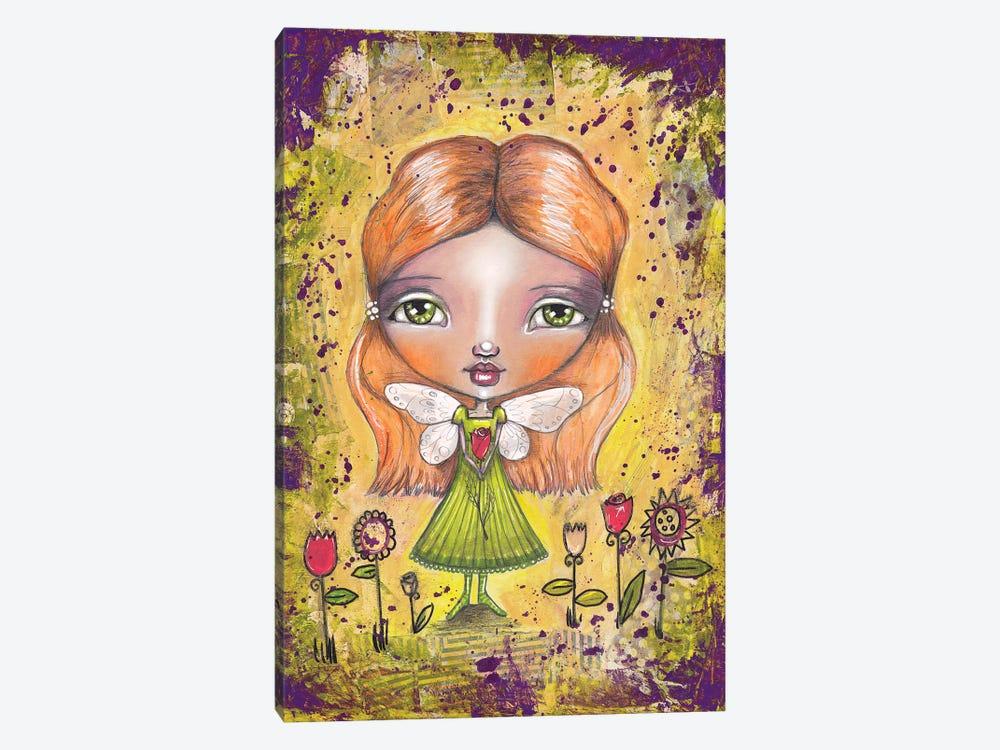 Flower Fairy by Tamara Laporte 1-piece Canvas Art Print