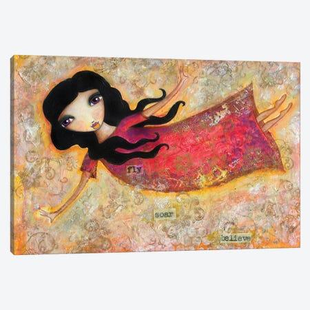 Fly Soar Believe Canvas Print #LPR69} by Tamara Laporte Canvas Print