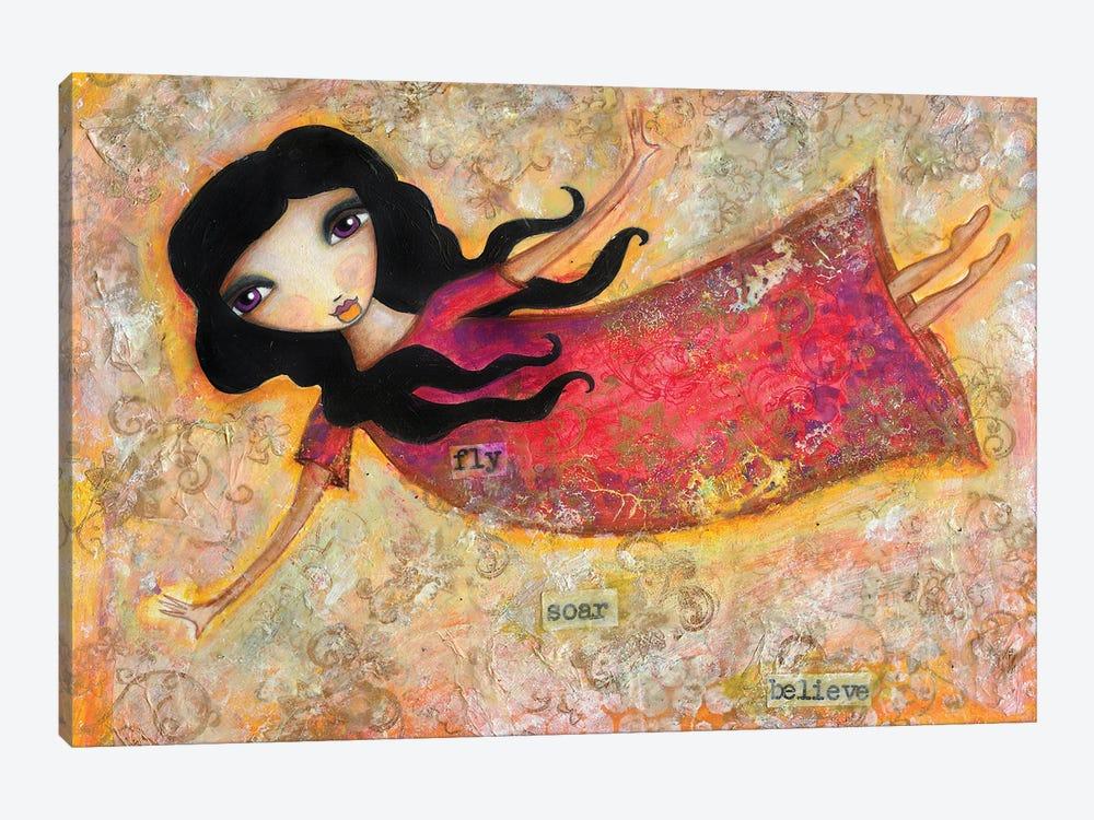 Fly Soar Believe by Tamara Laporte 1-piece Canvas Art Print