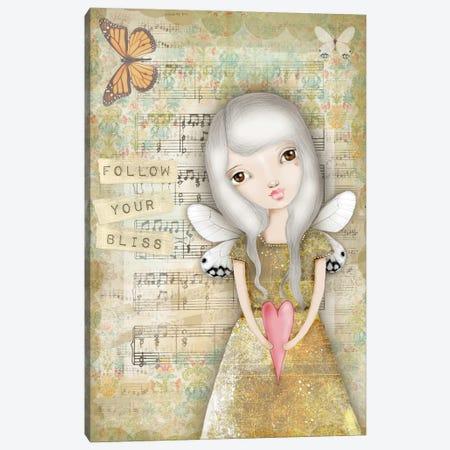 Follow Your Bliss Canvas Print #LPR70} by Tamara Laporte Canvas Art