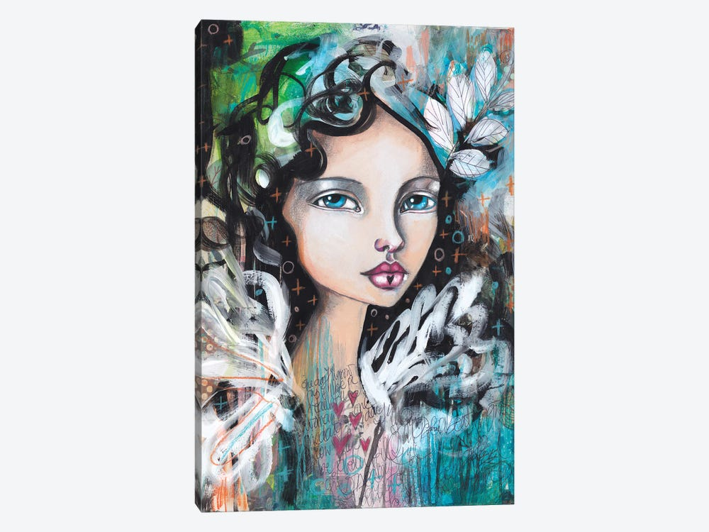 From A Feather by Tamara Laporte 1-piece Canvas Art