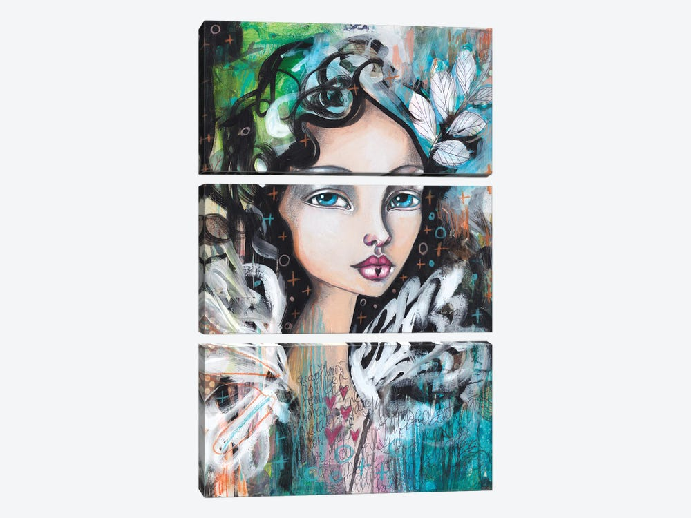 From A Feather by Tamara Laporte 3-piece Canvas Art