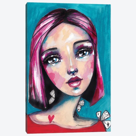 Girl Canvas Print #LPR78} by Tamara Laporte Canvas Artwork