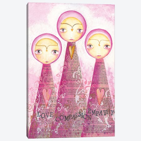 Goddess Love Compassion Empathy Canvas Print #LPR81} by Tamara Laporte Canvas Print