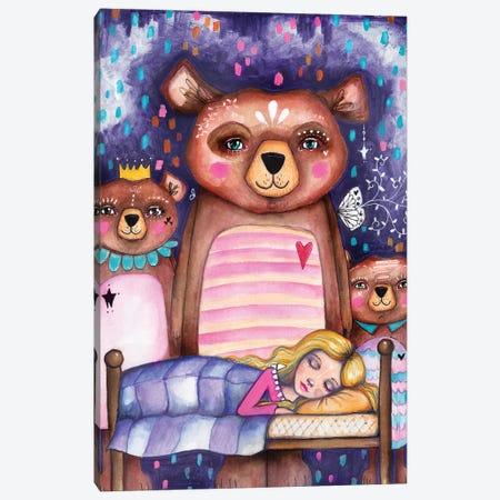 Goldilocks Canvas Print #LPR83} by Tamara Laporte Canvas Print