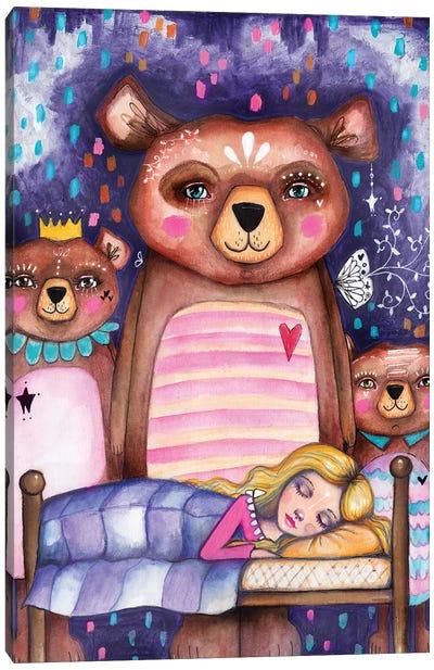 Goldilocks Canvas Art Print