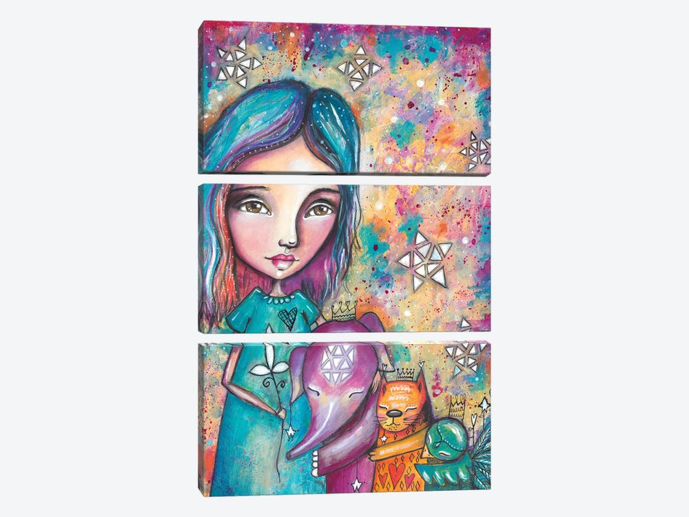 Group Hug by Tamara Laporte 3-piece Canvas Art Print