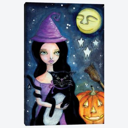 Halloween Canvas Print #LPR89} by Tamara Laporte Canvas Art Print