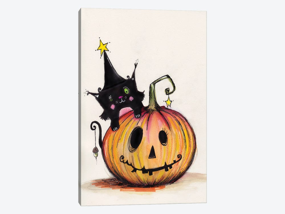 Happy Halloween by Tamara Laporte 1-piece Canvas Artwork