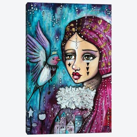 Happy Princess 3 Canvas Print #LPR93} by Tamara Laporte Canvas Wall Art
