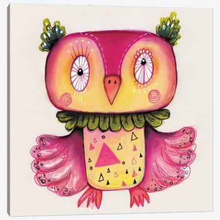 Happy Qb Canvas Print #LPR94} by Tamara Laporte Canvas Art Print