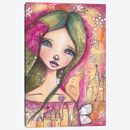 Heart Songs Canvas Print #LPR96} by Tamara Laporte Art Print