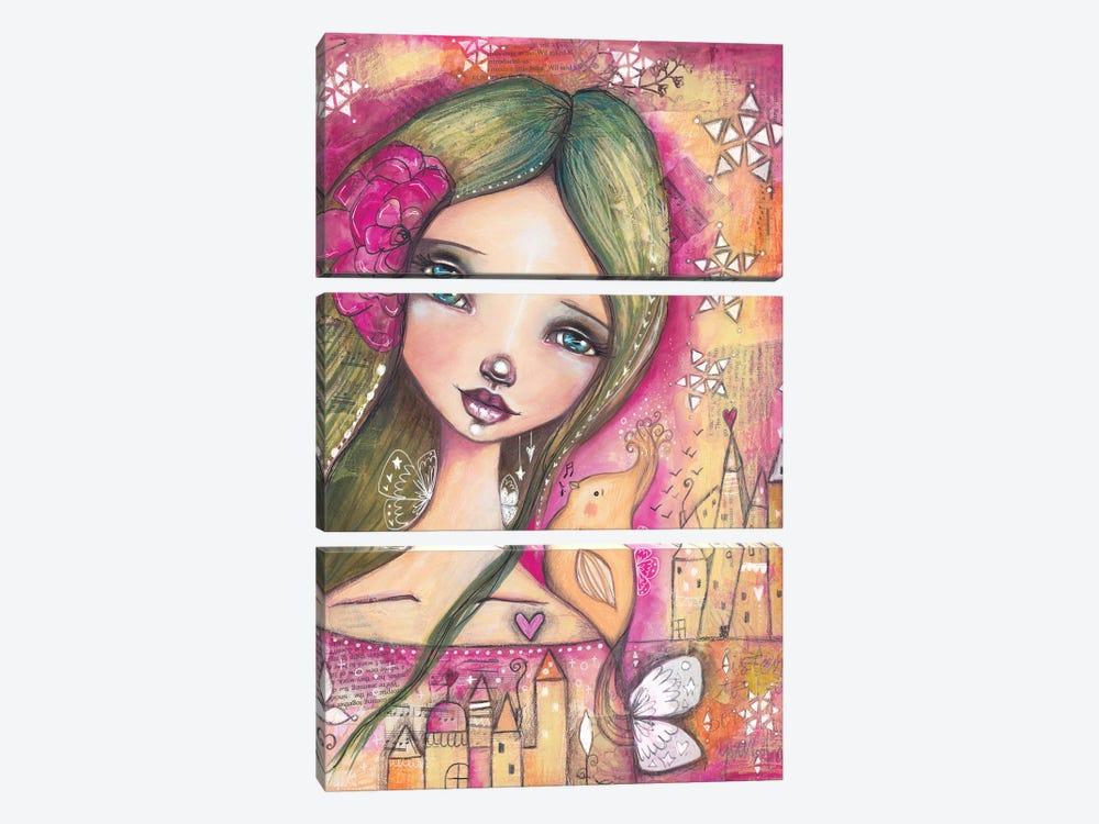 Heart Songs by Tamara Laporte 3-piece Canvas Art Print