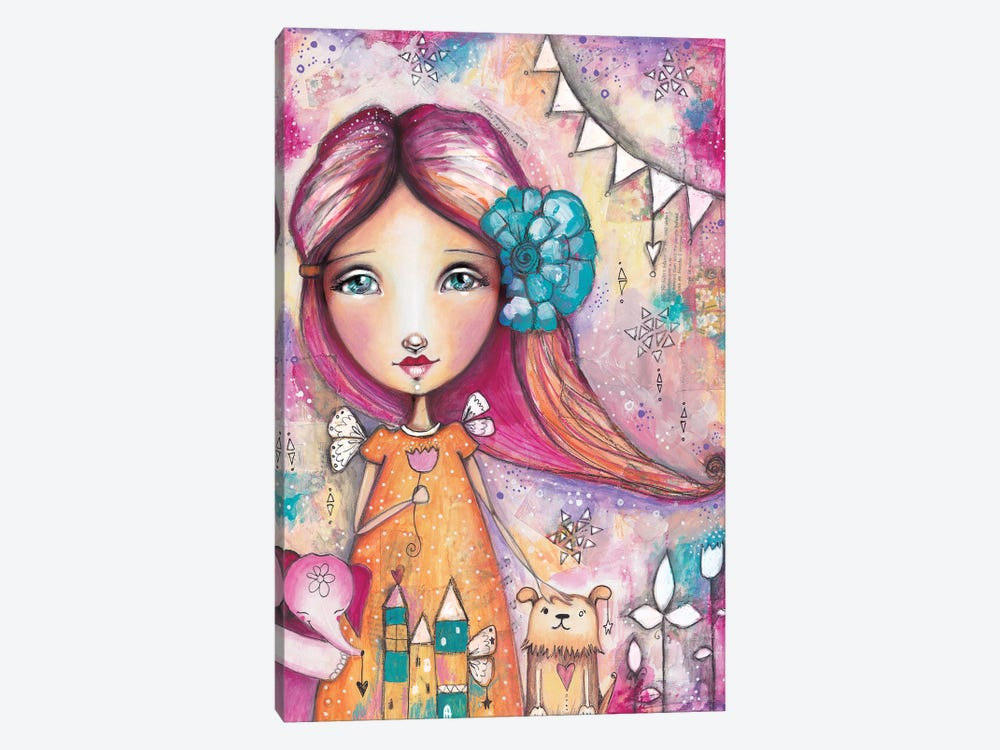 Here For You by Tamara Laporte 1-piece Canvas Art