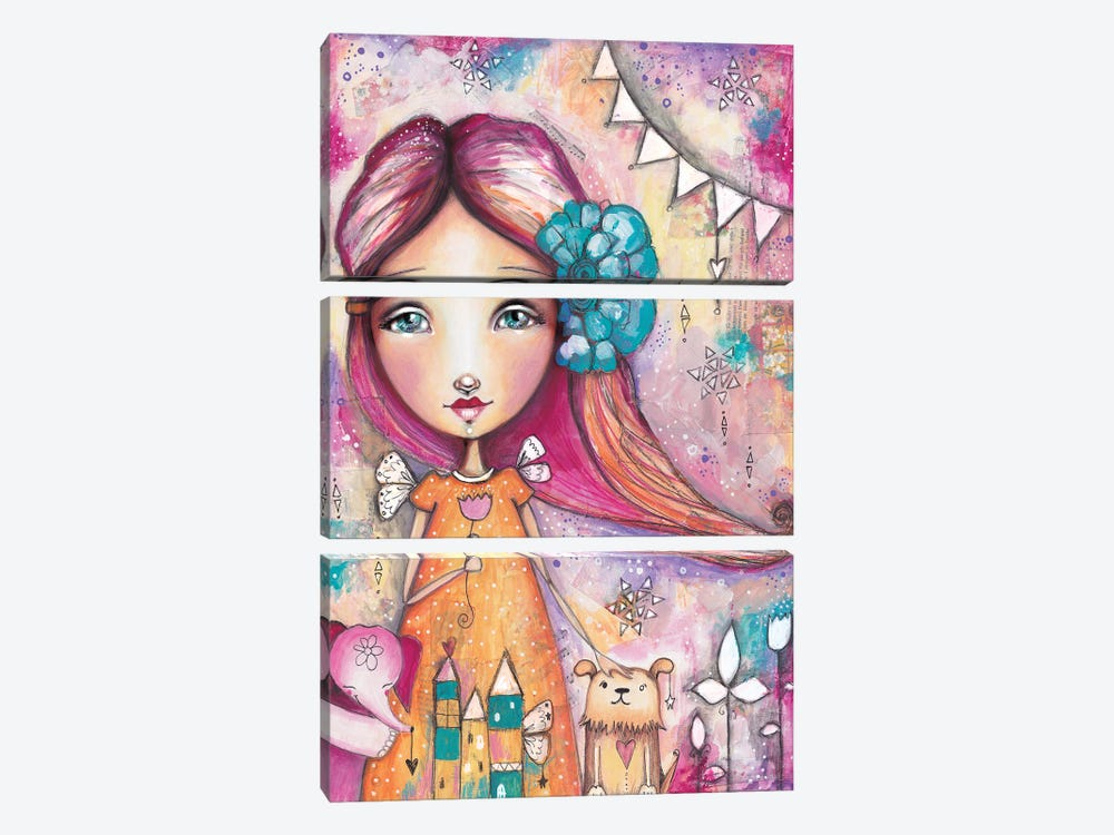 Here For You by Tamara Laporte 3-piece Canvas Art