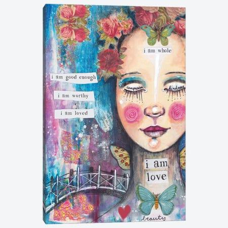 I Am Love Canvas Print #LPR98} by Tamara Laporte Canvas Art