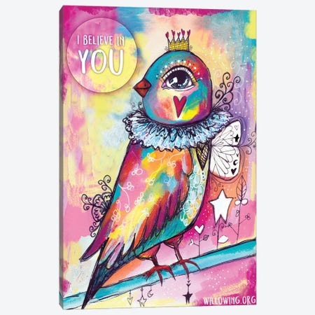I Believe In You Canvas Print #LPR99} by Tamara Laporte Canvas Art