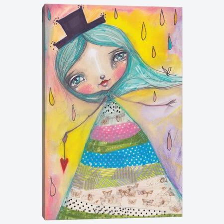 Amaryllis Canvas Print #LPR9} by Tamara Laporte Canvas Artwork