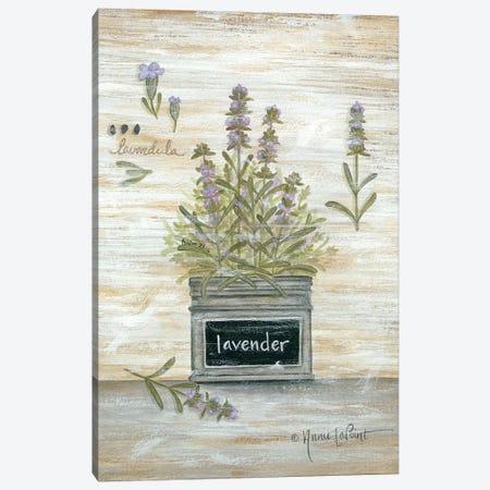 Lavender Botanical Canvas Print #LPT10} by Annie LaPoint Canvas Wall Art