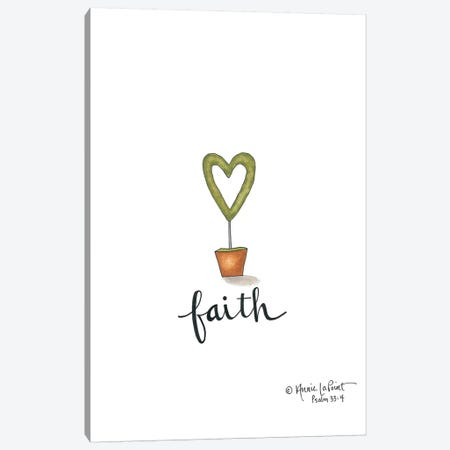 Little Faith Topiary Canvas Print #LPT11} by Annie LaPoint Canvas Wall Art