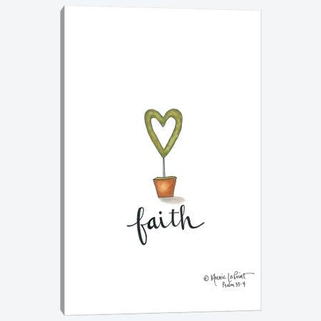 Little Faith Topiary Canvas Print #LPT11} by Annie LaPoint Canvas Wall Art