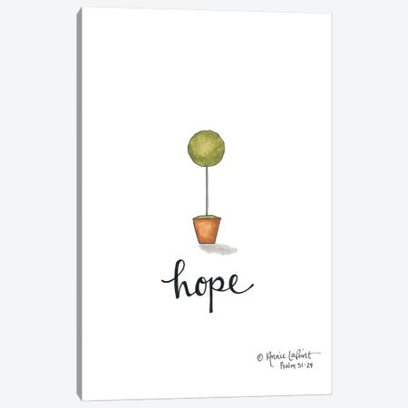 Little Hope Topiary Canvas Print #LPT12} by Annie LaPoint Canvas Art