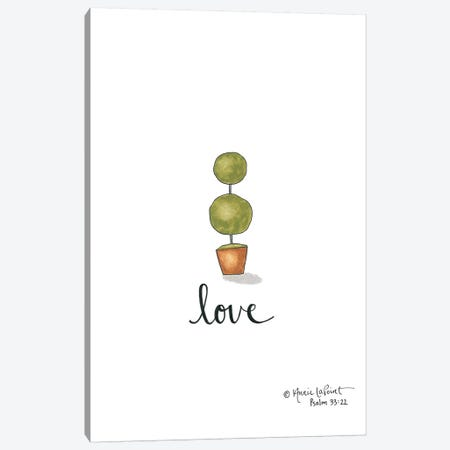 Little Love Topiary Canvas Print #LPT14} by Annie LaPoint Art Print