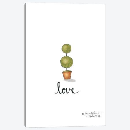 Little Love Topiary Canvas Print #LPT14} by Annie LaPoint Art Print