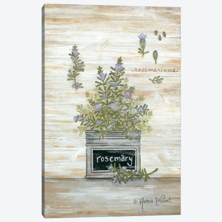 Rosemary Botanical Canvas Print #LPT17} by Annie LaPoint Art Print