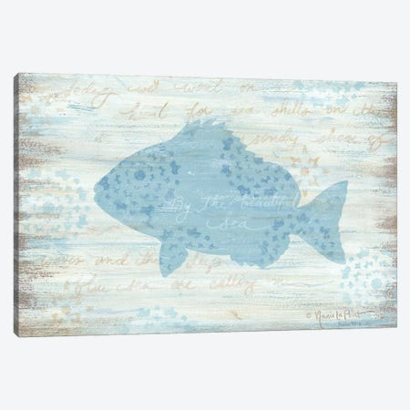Ocean Fish     3-Piece Canvas #LPT22} by Annie LaPoint Canvas Art Print
