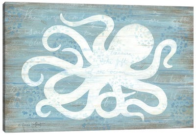 Ocean Octopus   Canvas Art Print