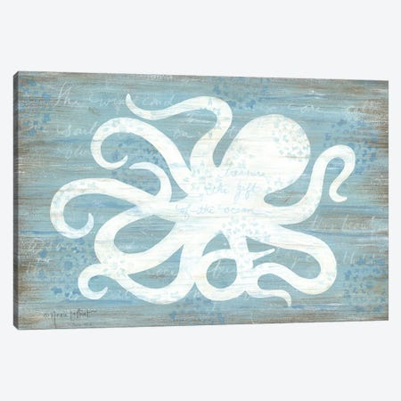 Ocean Octopus   Canvas Print #LPT23} by Annie LaPoint Canvas Print