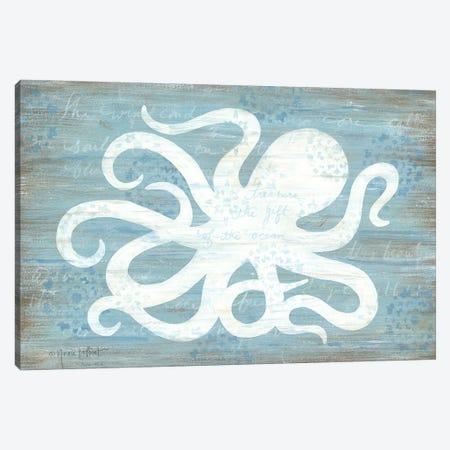 Ocean Octopus   Canvas Print #LPT23} by Annie LaPoint Canvas Print