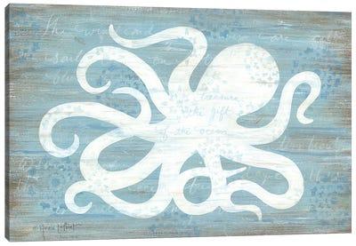 Ocean Octopus   Canvas Art Print