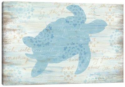 Ocean Turtle  Canvas Art Print