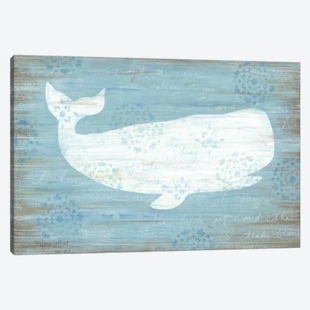 Ocean Whale   Canvas Print #LPT25} by Annie LaPoint Canvas Art