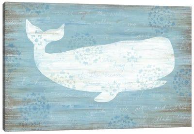 Ocean Whale   Canvas Art Print