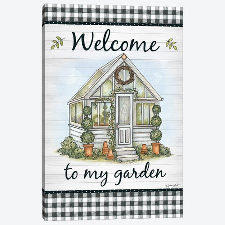 Welcome To My Garden Canvas Print #LPT27} by Annie LaPoint Canvas Art