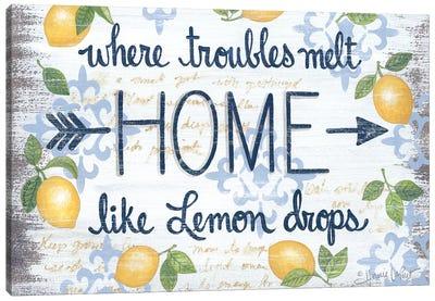 Lemon Home    Canvas Art Print