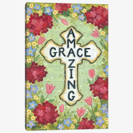 Amazing Grace Canvas Print #LPT30} by Annie LaPoint Canvas Wall Art
