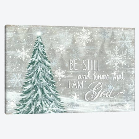 Be Still Canvas Print #LPT32} by Annie LaPoint Canvas Wall Art