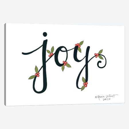 Joy with Berries Canvas Print #LPT35} by Annie LaPoint Canvas Print