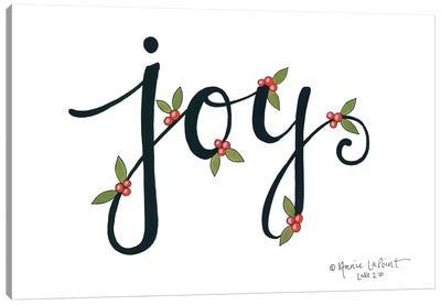 Joy with Berries Canvas Art Print