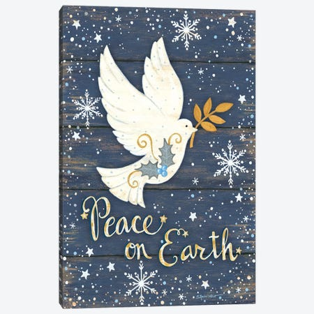 Peace on Earth Canvas Print #LPT37} by Annie LaPoint Canvas Art Print