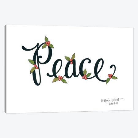 Peace with Berries Canvas Print #LPT38} by Annie LaPoint Canvas Wall Art